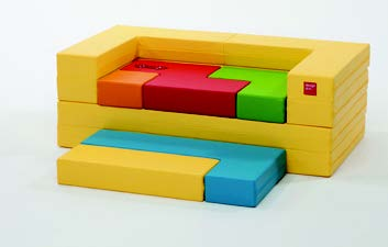 1303C02] With Being Selected For Award Of The Minister Of MKE (Ministry Of  Knowledge Economy) From 2012 Good Design Award, Baby Tetris Block Sofa Was  ...
