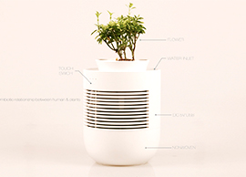 Pot-Humidifier