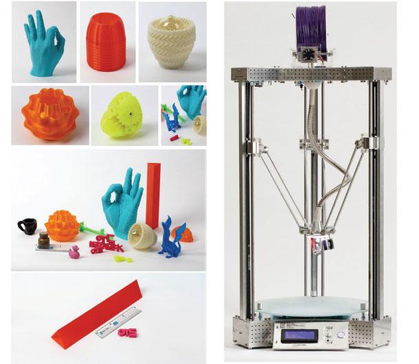 """3D-Printer-""""Deltabot-K-CU"""""""
